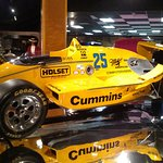 Just 1 of the Unser Indy cars here.