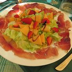 Prosciutto, with fruit & balsamic