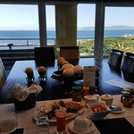 Scrumptious breakfast with a view to match