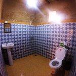 Shower and Toilet at Chez les habitants
