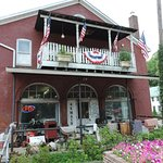 The old General Store in Railroad, Pennsylvania...now an antique haven...