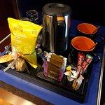 Mini-bar, free snacks