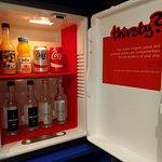 Mini-bar, free drinks