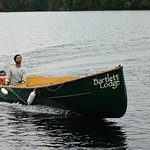 Bartlett Lodge Boat will pick you up at the Cache Lake Landing.