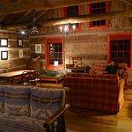 Inside Isabel's Cabin - Bartlett Lodge, Algonquin Park