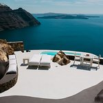 Private veranda of Villa Elidami