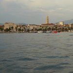The Riva and Split skyline