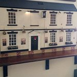 An Interesting Wooden Model of the Pub