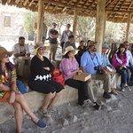 Tourists at the Pavillion area