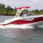 Capt. Al offers free boat rides in summer, Chapparal 21 SSI (when weather and time permits )
