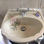 Flowery sink