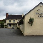 The Walwyn Arms from the road