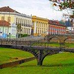 Ponte na cidade de São João Del Rei, Minas Gerais.