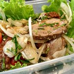 Take away after cooking class - Duck Salad with Lychee