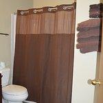 Lodge Room private bath
