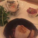 Scallop and oyster
