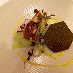 Stilton Cheese, Celery, Fig and Almond Press