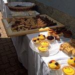 Le buffet de desserts....