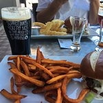 Milk Stout+Sweet Potato Fries=Heaven!