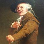 Portrait of Joseph Ducreux, now a famous meme.