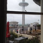 The i360 from the room - love it or hate it!