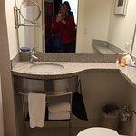 Stayed again November 2015, bathroom , Club Quarters Hotel in Boston