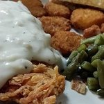 Chicken Fried Chicken Dinner with two sides