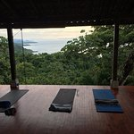 the serene upper yoga deck