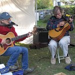 Arlo Guthrie's former guitarist!