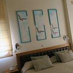 Sunny comfortable corner room