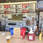 Lido Beach Restaurant Service Counter - Lido Key FL