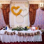 Наш стол жениха и невесты))
