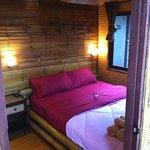inside of bambpp hut