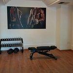 La palestra ~ the Gym attrezzata Technogym è a disposizione della clientela gratuitamente
