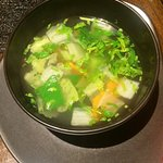 Ning Meng Xiang Cai Tang, Lemon and Coriander soup