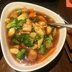 Vegetables in black bean sauce