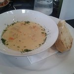 Seafood Chowder, unbelievably delicious, A must try.