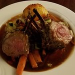 Rack of lamb, simply wonderful