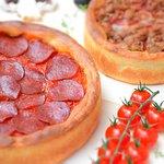 Deep dish pizza  w Warszawie