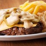 Cheese & Jalapeno Steak