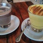 Golden Latte and Chilli Coco