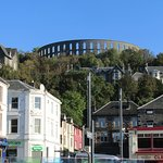 The famous McCaigs tower , Oban's crowning glory