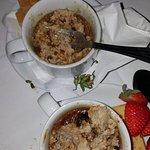 Dog food or creme brulee?