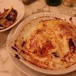 Cannelloni and roasted vegetables