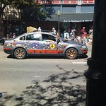 downtown trinidad - crazy car parade