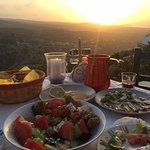 A meal on top of the mountain