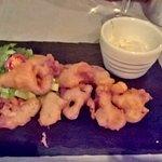 Calamari special - delicious