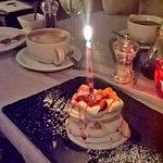 Birthday meringues ... mmmmm