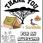 Thank you Sondela for the best camping weekend