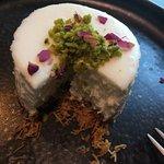 Muhallabia mini cheesecake